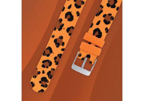 Twistiti Twistiti Polsbandje Leopard (zonder uurwerk)