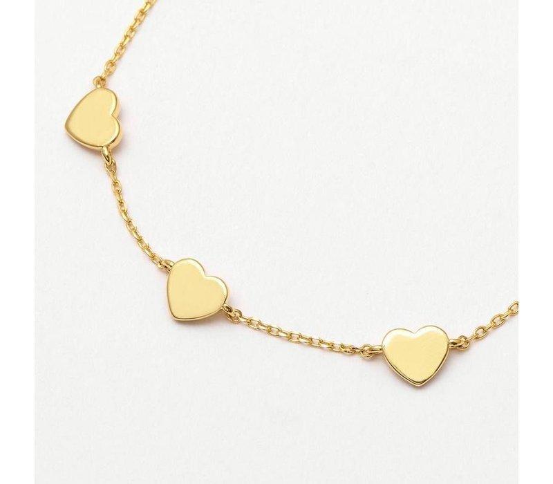 Estella Bartlett Armband 3 Hartjes