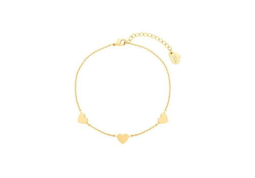 Estella Bartlett Estella Bartlett Heart Bracelet
