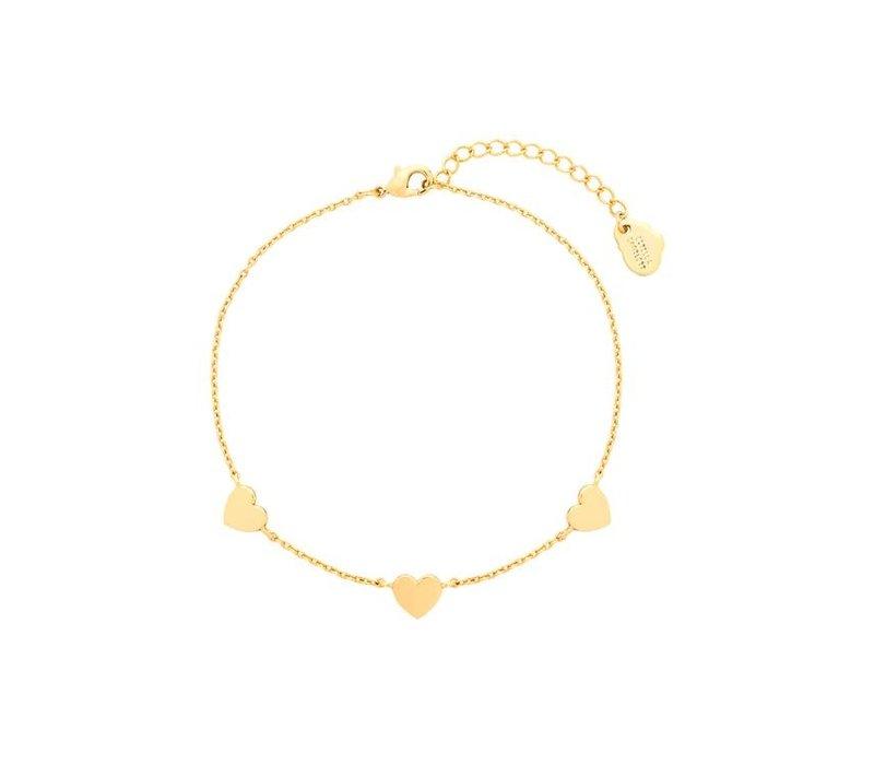 Estella Bartlett Heart Bracelet