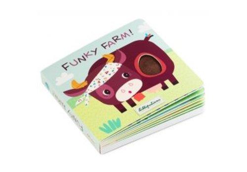 Lilliputiens Lilliputiens Voel en Geluidboekje Funky Farm