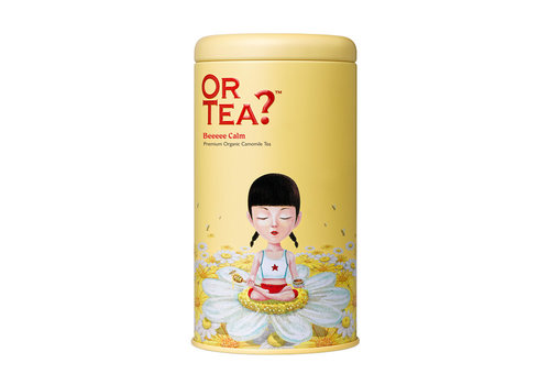 Or Tea Or Tea Bee Calm  Camomille Tea 50 gr Tin Canister