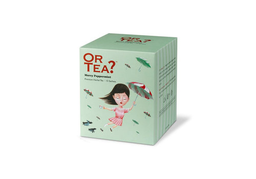 Or Tea Or Tea Merry Peppermint Herbal Infusion 10 Sachets