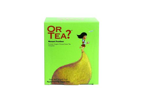 Or Tea Or Tea Mount Feather Thé Vert 10 sachets