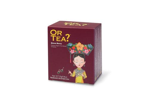 Or Tea Or Tea Queen Berry Infusion de fruits rouges 10 sachets
