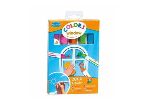 Aladine Aladine Colors Window Raam Stiften