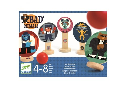 Djeco Djeco BAD'nimals Skill Game