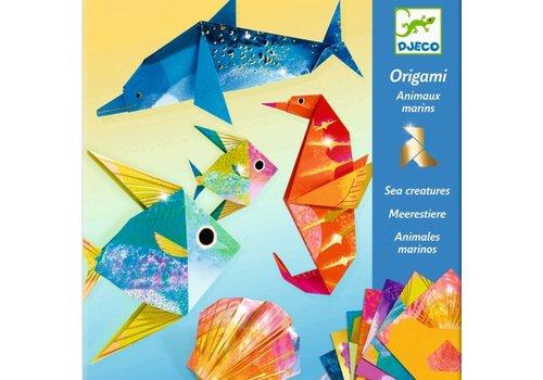 Djeco Djeco Origami  Zeedieren