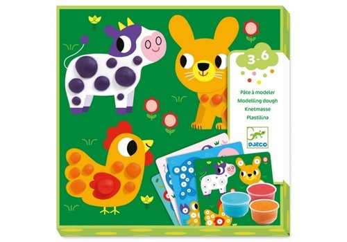 Djeco Djeco Modeling Dough Animals