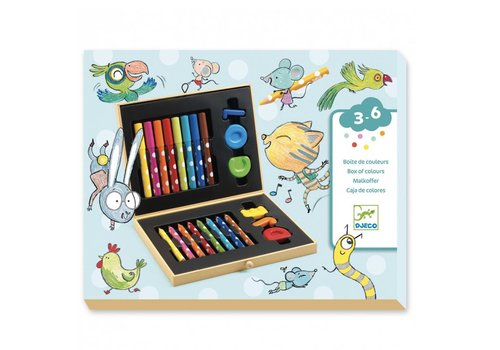 Djeco Djeco Box of Colours For Toddlers