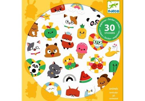 Djeco Djeco 3D Stickers Emoji