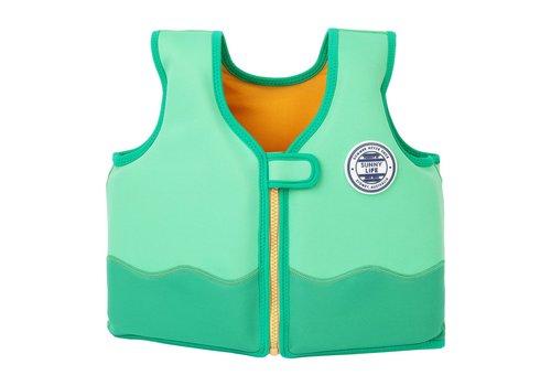Sunnylife Sunnylife Kids Float Vest  'Croc' 2-4 yrs