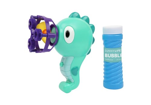 Sunnylife Sunnylife Soap Bubbles Blower Seahorse