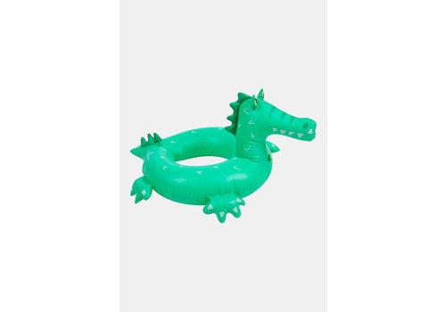 Sunnylife Sunnylife Opblaasbare Zwembandring Croc