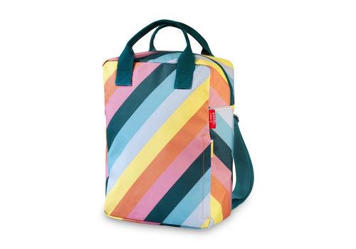 Engel Engel Backpack Stripe Rainbow Large