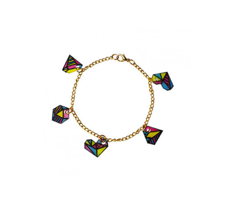 Janod Knutselset 8 Juwelen Maken met Krimpfolie Geometrix