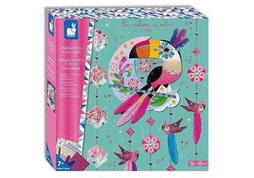 Janod Janod Multi Activiteiten Box 11 Girly Decoraties