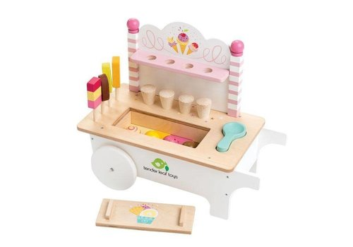 Tender Leaf Toys Tender Leaf Toys Ice Cream Cart