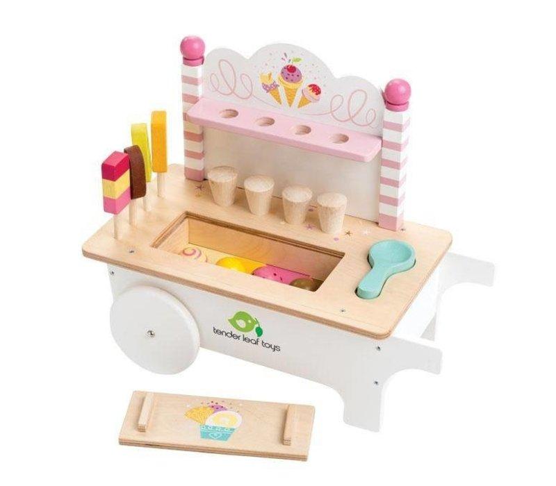 Tender Leaf Toys Ice Cream Cart