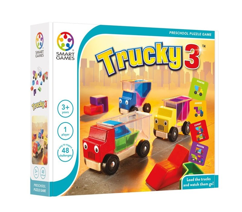 SmartGames Trucky 3