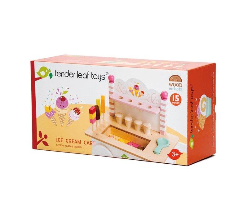 Tender Leaf Toys Ijskarretje