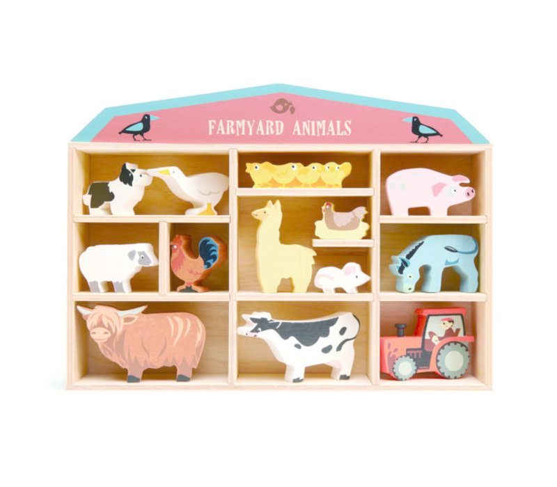 Tender Leaf Toys Farmyard Animals
