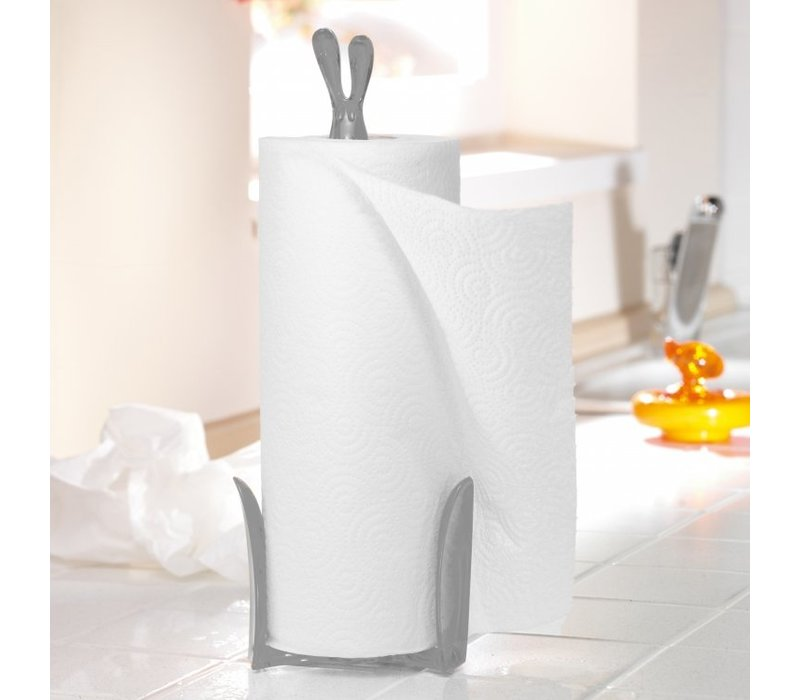Koziol Roger Paper Towel Stand White