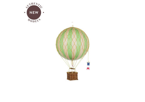 Authentic Models Authentic Models Luchtballon Floating The Skies True Green 8,5 cm