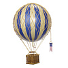 Authentic Models Authentic Models Hot air Balloon Floating The Skies Blue 8,5 cm
