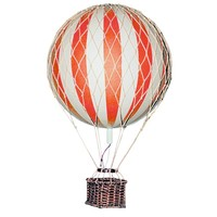 Authentic Models Hot air Balloon Floating The Skies Tru Red 8,5 cm