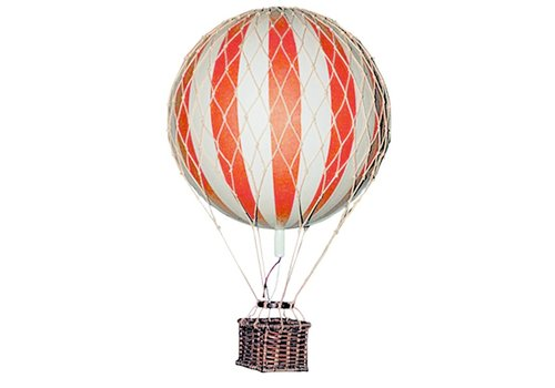 Authentic Models Authentic Models Hot air Balloon Floating The Skies Tru Red 8,5 cm