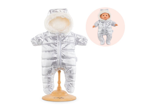 Corolle Corolle Silver Ski Suit for 42 cm Doll