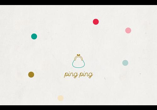 Leuke Kaartjes Leuke Kaartjes Greeting Card Ping Ping