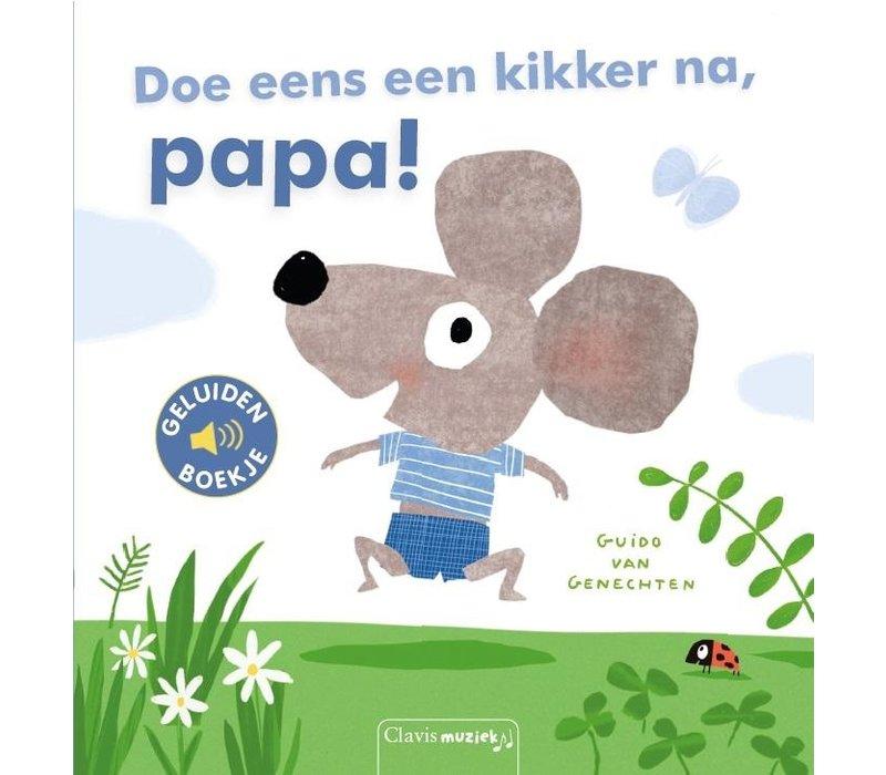 Clavis Geluidenboekje 'Doe Eens Een Kikker Na, Papa!'