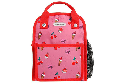 Jack Piers Jack Piers Backpack Amsterdam Small Cherry Pop