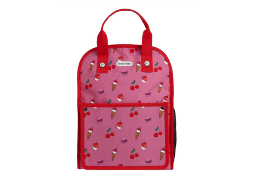 Jack Piers Jack Piers Backpack Amsterdam Large Cherry Pop