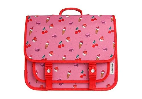 Jack Piers Jack Piers Schoolbag Paris Large Cherry Pop