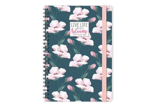 Legami Legami Weekly Diary Large Flowers 2021