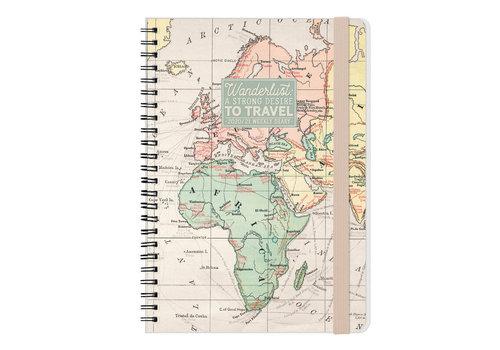 Legami Legami Weekly Diary Large Map 2021