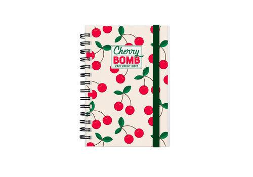 Legami Legami Weekly Diary Small Cherry Bomb 2021