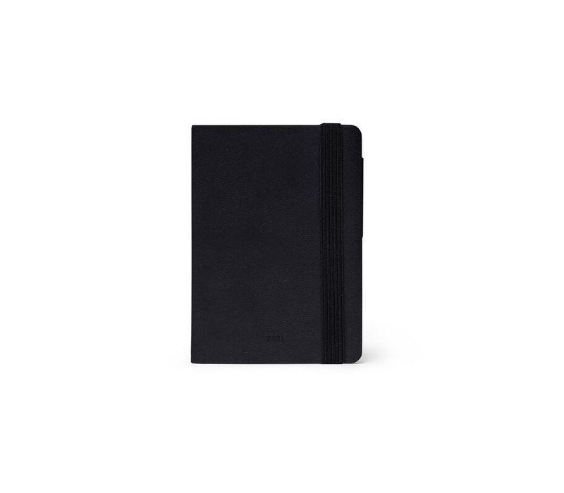 Legami Weekly Diary Mini Black 2021