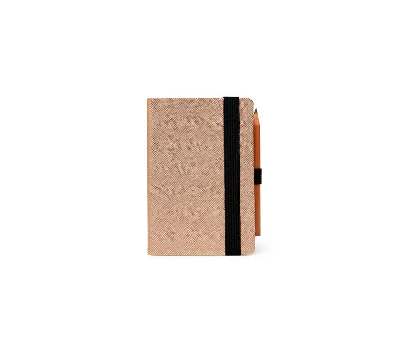 Legami Weekly Diary Mini 2Day - Rose Gold 2021