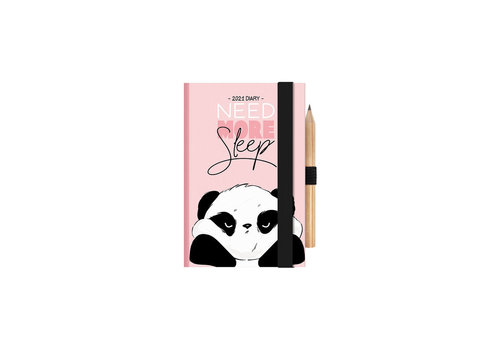 Legami Legami 2day Mini Diary Panda 2021