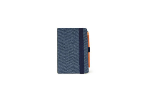 Legami Legami Weekly Diary Mini Blue Tweed 2021