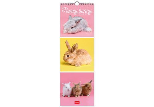 Legami Legami Calendar 2021 - Honey Bunny