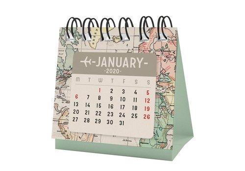 Legami Legami Micro Calendar Travel 2021