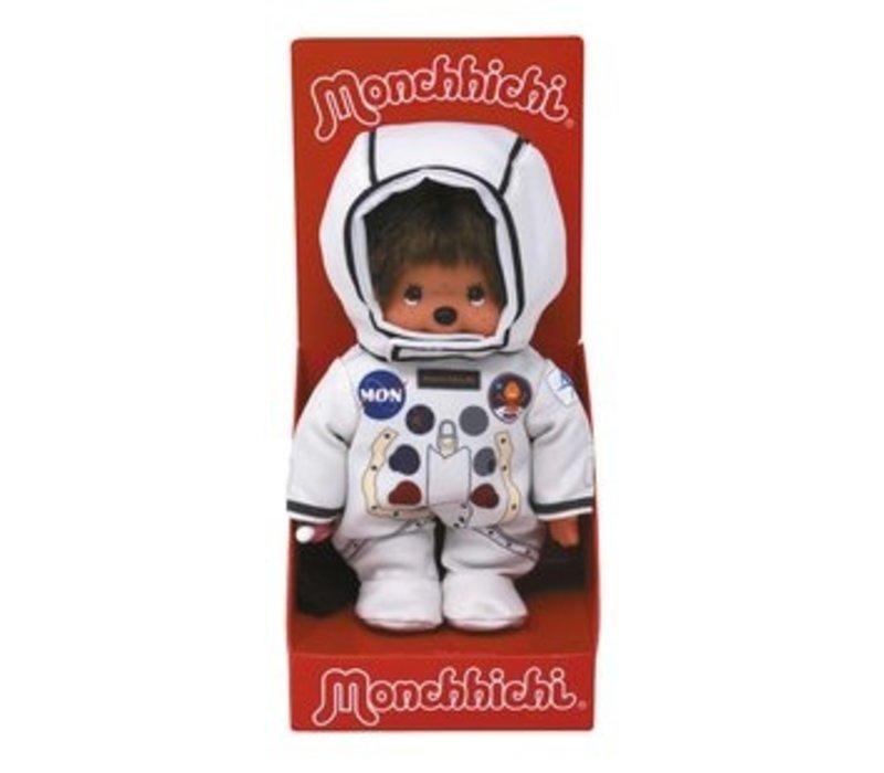 Monchhichi Boy Astronaut with Helmet 20 cm
