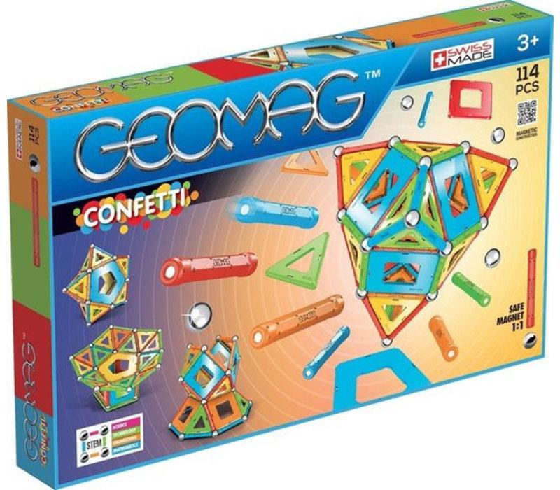 Geomag Confetti 114 stuks