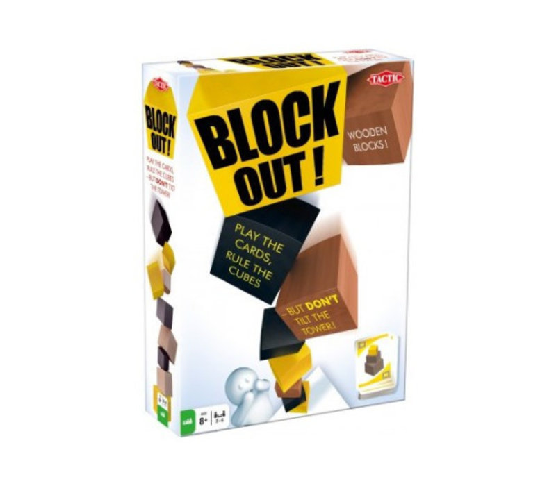 Tactic Block Out! Card Game