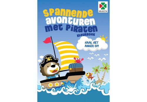 Selecta Selecta Coloring Book Spannende Avonturen met Piraten